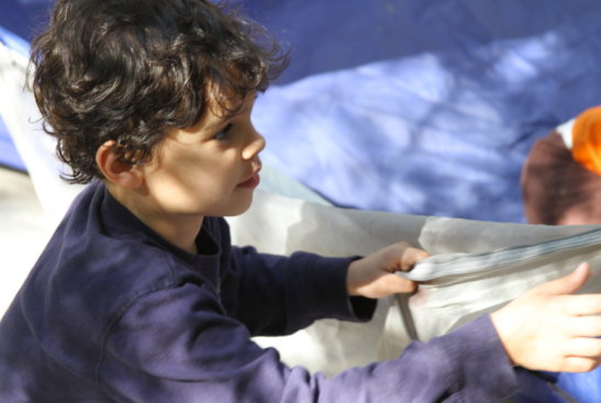 Kitu Kids nature camping tent