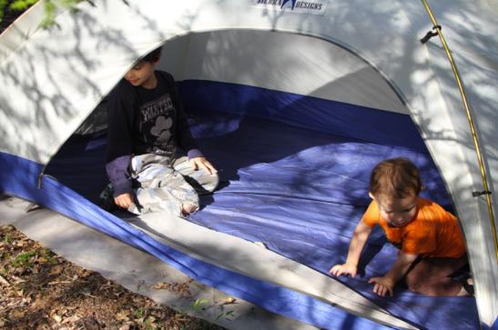 nature kitu kids tent game app